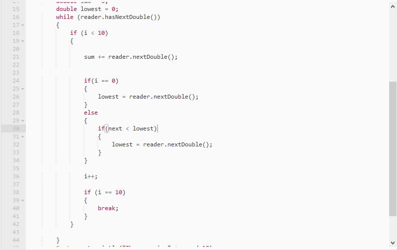 bad scanner code